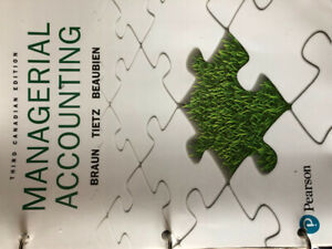 Managerial Accounting third edition