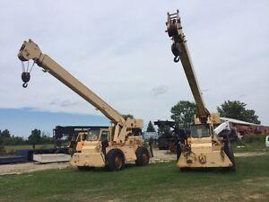 GROVE RT-58 14.5 ton rough terrain cranes