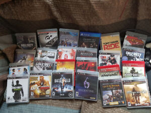 PS3 FOR SALE WITH 3 CONTROLLERS AND 24 GAMES