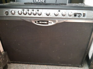 Line 6 spider II 120w 2x12 celestion speakers