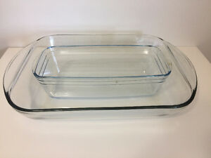 3 Quart Glass Baking Dish, 1.5qt Glass Loaf Baking Dish Pan, Kitchener / Waterloo Kitchener Area image 1