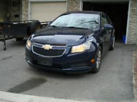 2011 Chevrolet Cruze LT Turbo w/1SA Sedan, Safety and Etested