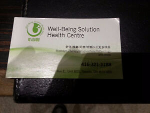 For Sale:  Well-Being Solution Health Centre Clinic