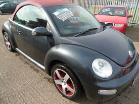 Volkswagen Beetle 1.6 2005MY Dark Flint