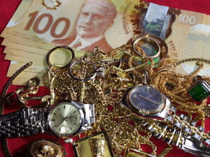 $$$$$$$$...ACHAT: D'OR, ARGENT, MONTRES...WE BUY WATCHES, GOLD