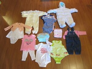 Brand new baby girls clothes (3-12 month)