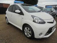 2012 62 TOYOTA AYGO 1.0 VVT-I FIRE 5DR 67 BHP FREE ROAD TAX FINANCE WITH NO DEPO