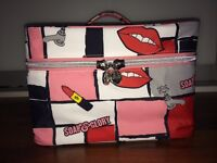Soap & Glory Zipped Bag with 9 Items - Brand New!