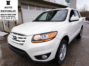 2010 Hyundai Santa Fe, AWD, Certified, Accident Free