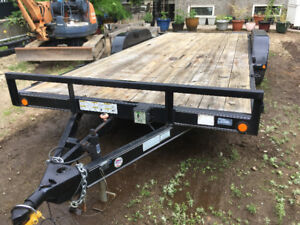 21 ft. Tandem Axle Load Trailer