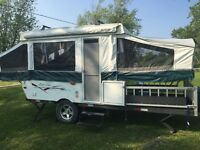 2008 Real Lite RL-10 Toy hauler Tent Trailer