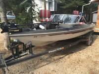 Ranger fishing boat - 200 outboard
