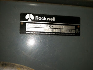 10 inch Rockwell/Delta table saw Kitchener / Waterloo Kitchener Area image 2