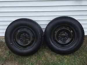 235/75R/17 New Steel rims with New Hancook Tires