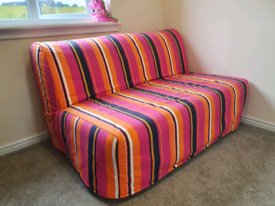 ** SOLD ** Ikea Lycksele 2 Seater Sofa Bed