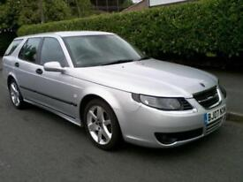 Saab 9-5 1.9TiD Linear Sport Estate 2007 Long MOT