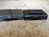 2 VHS PLAYERS