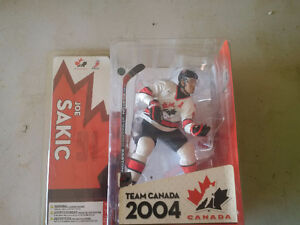 Joe Sakic - Team Canada 1987- Vintage Figurine