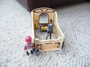 Playmobile Horse and Stall