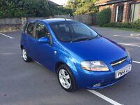 Chevrolet Kalos 1.4 SX 2006 56 reg blue 5 door 85k 3 owners top spec look now! Astra 307