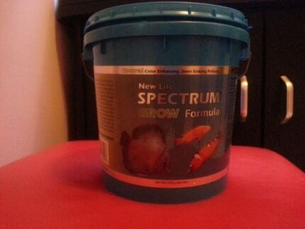 Cichlid Fish Food Pellets Bucket Cichlid Fish Food