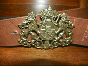 Levi Strauss Belt and Buckle