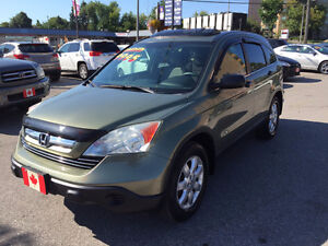 2007 Honda CR-V EX 4WD SUV...LOW KMS....PERFECT COND.