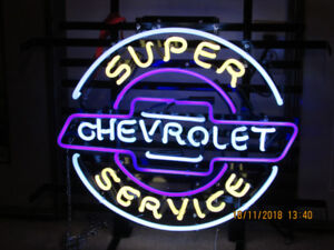 Classic neon signs