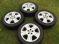Ford alloys transit connect Mondeo focus 5stud 205 55 16