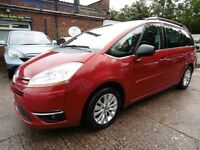 Citroen C4 Picasso 1.6 HDI EXCLUSIVE EGS (1 OWNER + PARKING SENSORS + TINTED WINDOWS) (red) 2009