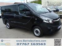 2015 64 VAUXHALL VIVARO 2700 1.6CDTI 115PS 6 SPEED VAN