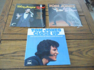 Lot of 3- 1968-72 Tom Jones Vinyl Records