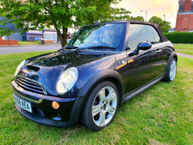2008 mini cooper s convertible 1.6 supercharged