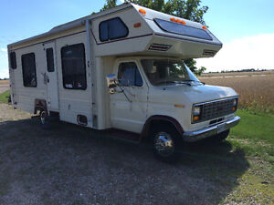 1985 27 foot  glendale motorhome with generator