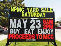 Nutana Park Mennonite Church Garage Sale