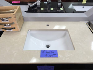 GREAT DISCOUNT on demo counter top!