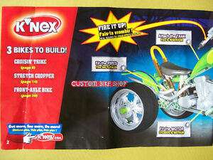 "K'NEX ""Custom Bike Shop"" motorcycle / cycle set, throttle sounds Cambridge Kitchener Area image 4"