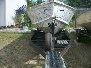 Boat - Motor- and Trailer