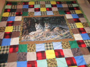 """Cozy Washable Camp Quilts Most are 90"""" x 90"""""""