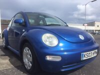Volkswagen Beetle trade in to clear 1 owner