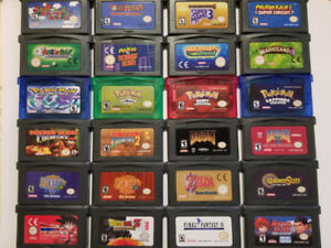 Game Boy Advance Game/Jeux de Game Boy Advance