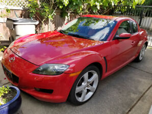 2004 Mazda RX-8 GT, New engine LOW KMS, TRADES WELCOME