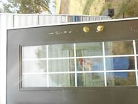 exterior right hand 30x68  2x 6 15 glass panels