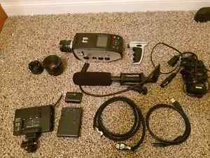 Bolex D16 with tons of accessories