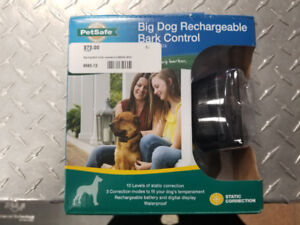 Pet Safe - Big Dog Rechargeable Bark Control (Opened But Unused)
