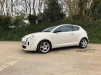 2010 ALFA ROMEO MITO 1.6 JTDM VELOCE 6 SPEED MANUAL WHITE GREAT SPEC CAR