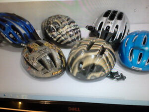 bike helmets $10. each
