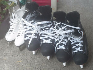 BOYS AND GIRLS SKATES FOR SALE