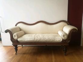 Antique William IV Chaise Lounge