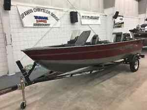 REDUCED - 2017 Lund 1750 Rebel XS with 60 HP Mercury